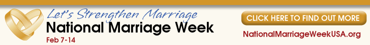 Today, February 7th, begins National Marriage Week. It's a good time to take a step back and take a look at God's plan for marriage.